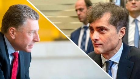 Волкер и Сурков обсудили вопрос прекращения военных действий на востоке Украины