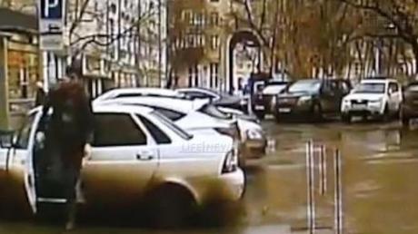 Камеры наблюдения зафиксировали предполагаемых убийц Бориса Немцова