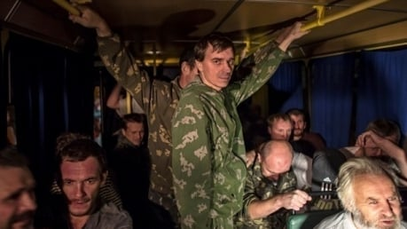 Обнородован первый список освобожденных украинских военнопленных