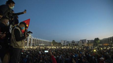 В Бишкеке сообщили о захвате здания МВД Киргизии – в ведомстве выступили с заявлением