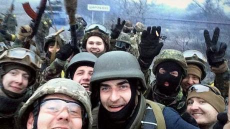 Полк «Азов» закончил наступательную операцию в Новоазовском направлении