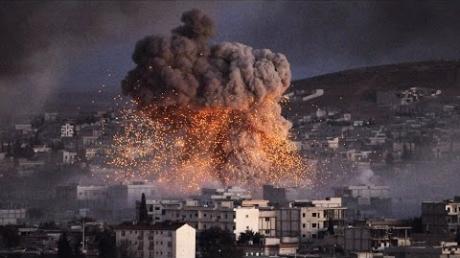 Пророссийский Асад получил неожиданный военный удар в самое сердце: стало известно, кто именно сегодня ночью разбомбил склад с боеприпасами под Дамаском (кадры)