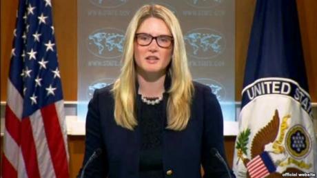 мари харф, США, конфликт на донбассе, мирные соглашения, порошенко, путин, ЕС, донбасс
