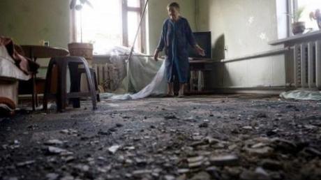 Мэрия Донецка: Город находится под артобстрелом