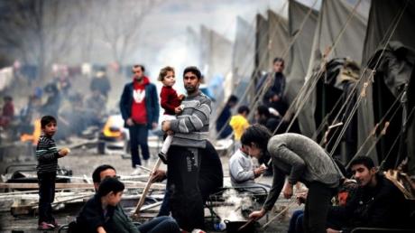 Лагеря беженцев в Сирии опустели: местные жители бегут от смерти
