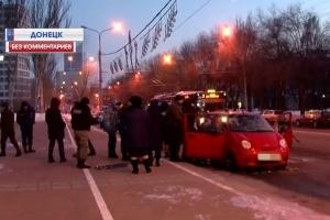 украина, донбасс, донецк, взрыв, скандал, автомобиль, днр
