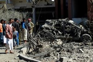 йемен, саудовская аравия, происшествия, конфликты, авиаудар, общество