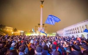 Майдан, события, празднования, Киев, центр, Сотня, Порошенко, революция