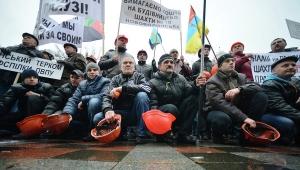киев, происшествия, общество, шахтеры, митинг