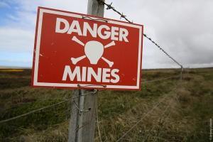 противопехотные мины, Минобороны, Украина, новости, ОРДЛО, Донбасс, ВОП