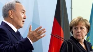 назарбаев, казахстан, украина, политика, меркель, германия, минские договоренности, россия, франция, восток украины, донбас