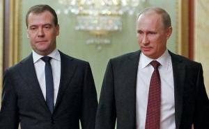 путин Медведев Россия Песков скандал