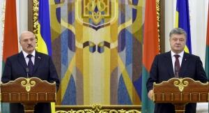 украина, беларусь, порошенко, лукашенко, визит, политика