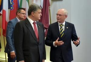 новости украины, херман ван ромпей, петр порошенко