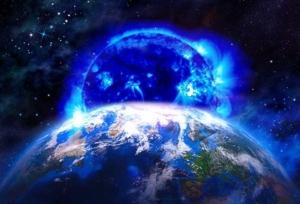 Юпитер, Венера, сближение Юпитера с Венерой, DailyStar, взрыв на Солнце, синее солнце