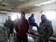 краснодон, украинские партизаны, сожжена фабрика боевиков, луганская область, лнр, ато