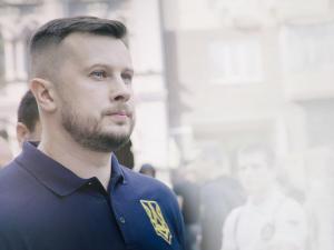 киев, вече, протест, украина, штайнмайер, капитуляция, донбасс Андрей Билецкий