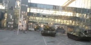 Донецкий аэропорт, Донецк, Донбасс, АТО, Нацгвардия, армия Украины, ополченцы, ДНР, Украина