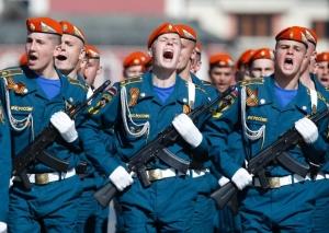 Путин, Крым, парад
