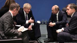 Великобритания, Путин, Джонсон, Встреча, Спор, Отношения.