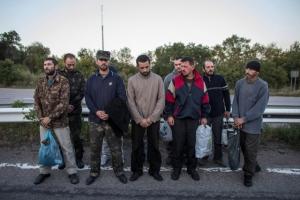 Оксана Белозир, пленные обмен, ДНР, армия Украины, АТО, юго-восток, Донбасс