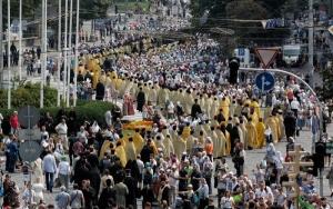 Украина, киев, День Крещения Киевской Руси, движение, дороги, шествия