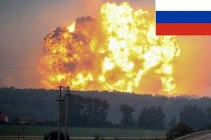 рф украина, черниговская область, ичня, взрывы, военные склады, боеприпасы