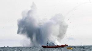 италия, происшествия, новости италии, террачина, лацио, крушение истребителя, видео, авария, авиашоу в италии