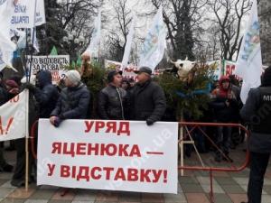киев, происшествия, общество, верховная рада, митинг, аграрии
