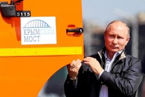 путин, крым, аннексия, крымский мост, охрана моста в крыму, россия, новости украины