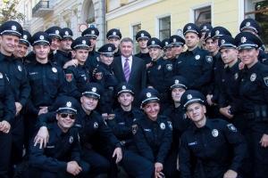 Я Бандера, полиция, флешмоб, новости, Украина, Арсен Аваков, выборы президента Украины