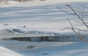 Северодонецк. речка, лед, дети, провалились под лед, фото, происшествия, видео