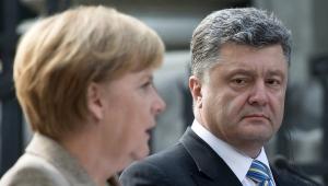порошенко, меркель, политика, донбасс, юго-восток украины, новости украины, новости германии, донецк, луганск, обсе