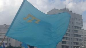 крым, день крымскотатарского флага, волонтеры
