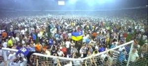 динамо, шахтер, киев, происшествия, видео беспорядков, футбол, кубок украины