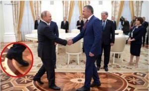 новости, Россия, Путин, фейл, курьез, махинации с ростом, высокие каблуки, внешность, фото, соцсети смеются
