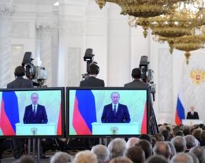 Путин, Россия, Чечня, Грозный, политика, Федеральное собрание