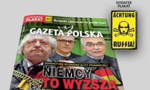 новости, Польша, Россия, Gazeta Polska, Путин, плакат, приложение, яд, Циклон Б, СС, нацистские молнии, Achtung Russia