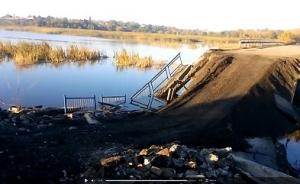 Макеевка, Нижняя Крынка, мост, переправа, восстановление, жители