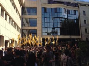 киев, происшествия, общество, азов, пикет, митинг