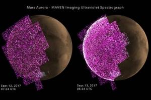 Космос, Марс, NASA, Свечение, Радиация