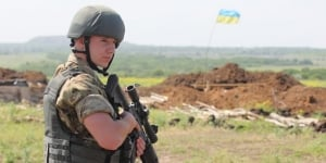 Красногоровка, Рымарык, волонтер, АТО, восток Украины, терроризм, смерть, бой, ВСУ