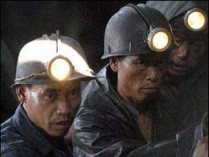 китай, шахта, авария, рабочие