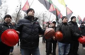 киев, происшествия, общество, шахтеры