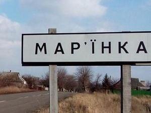 боевые действия, марьинка, красногоровка,эвакуация населения, общество, происшествия, Украина