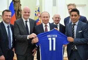 Россия, политика, чм-2018, хорватия, поражение ФИФА скандал Путин