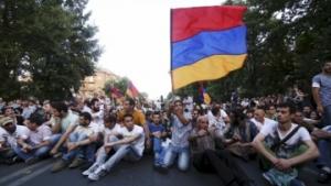 армения, митинг