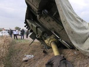 танк, россия, происшествия, т-72, перевернулся, армия россии, новости, бронетехника, танковый биатлон