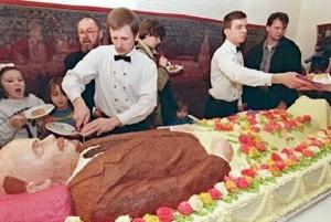 россия, ленин, ссср, скандал, соцсети, торт