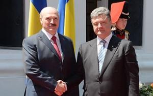 Петр Порошенко, Александр Лукашенко, встреча, Минск, переговоры